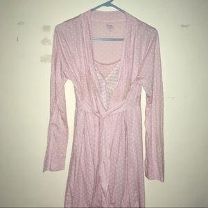 Motherhood Maternity/Nursing Nightgown and Robe
